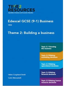 GCSE (9-1) Edexcel Business Theme 2 Building a Business Course Guide - pack of 10