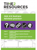 AQA GCE Business Topics 4-6 Retrieval Practice+ Workbook (pack of 10)
