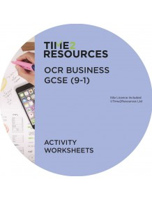 GCSE (9-1) OCR Business Activity Worksheets