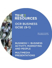 GCSE (9-1) OCR Business Multimedia Presentations Component 1: Business activity, marketing and people