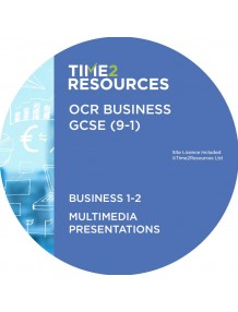 GCSE (9-1) OCR Business Multimedia Presentations Components 1 and 2