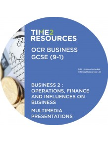 GCSE (9-1) OCR Business Multimedia Presentations Component 2: Operations, finance and influences on business