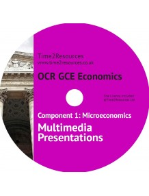OCR GCE Economics Microeconomics Year 1 Multimedia Presentations