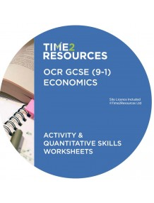GCSE (9-1) OCR Economics Activity & Quantitative Skills Worksheets