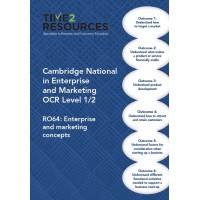 Cambridge National in Enterprise and Marketing OCR Level 1/2 R064 Revision Guide