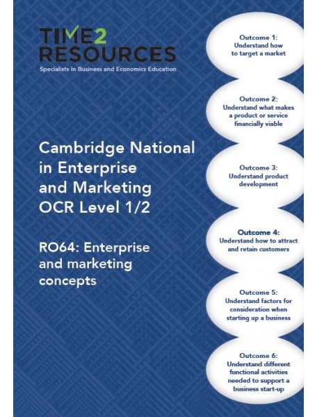 OCR Cambridge National R064 Enterprise and Marketing Concepts Revision Conference POA