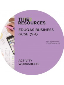 GCSE (9-1) WJEC Eduqas Business Activity Worksheets