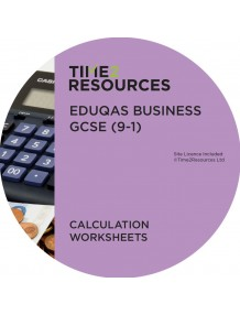 GCSE (9-1) WJEC Eduqas Business Calculation Worksheets