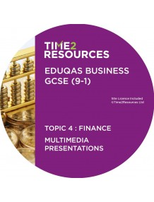 GCSE (9-1) WJEC Eduqas Business Multimedia Presentations Topic 4: Finance