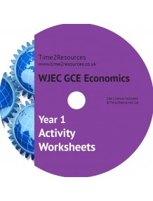 WJEC/Eduqas GCE Economics Year 1 Activity Worksheets CD & Printed