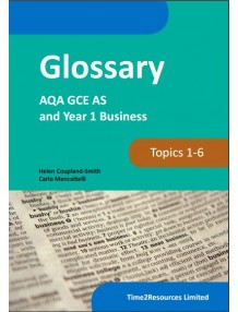 AQA GCE Business Year 1 Glossary Book (50)