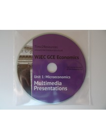 OCR GCE Economics Microeconomics Year 2 Multimedia Presentations