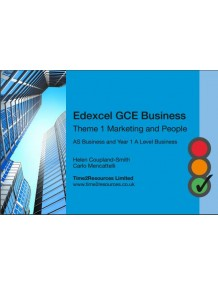 Edexcel GCE Business Theme 1 Revision Guides (10)