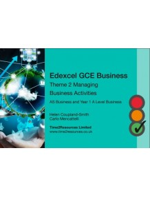 Edexcel GCE Business Theme 2 Revision Guides (10)