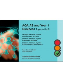 AQA GCE Business Revision Guides (10)  Topics 4-6